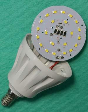 Тестируемая лампа 5 ватт, фото 3