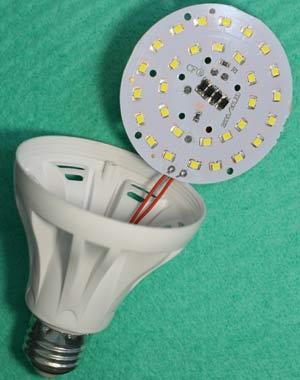 Тестируемая лампа 7 ватт, фото 1