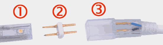 Подключение светодиодной ленты 220В