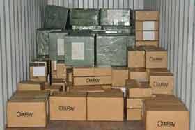 контейнер с продукцией