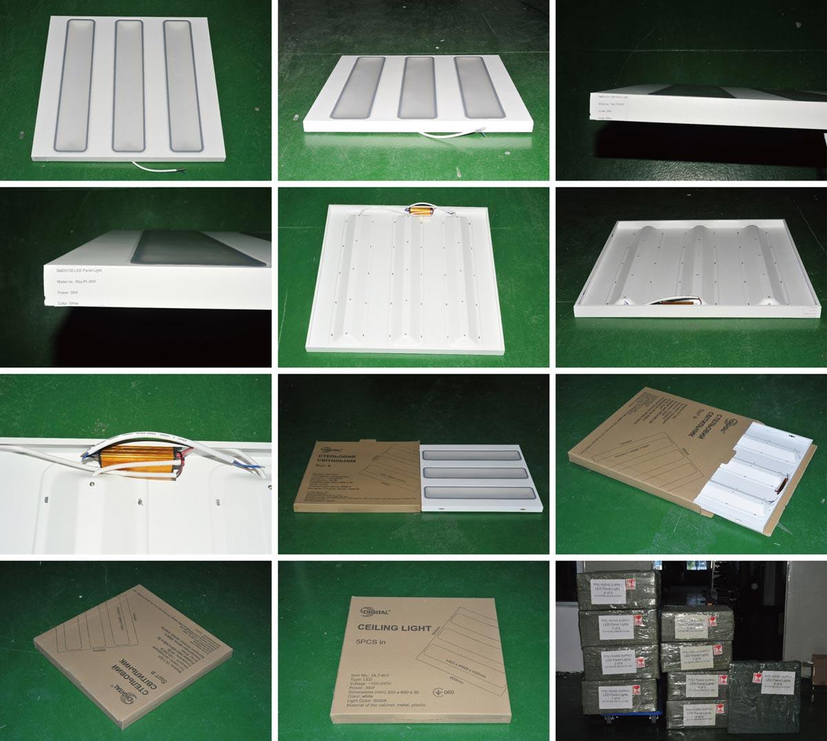 Изготовление светодиодных панелей 108