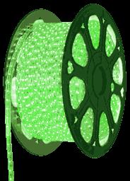Зеленая светодиодная лента на 220 вольт, 5050A60G