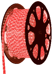 Красная светодиодная лента на 220 вольт, 5050A60R