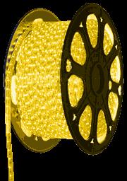 Желтая светодиодная лента на 220 вольт, 5050A60Y