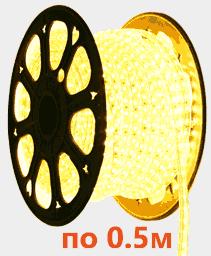 Светодиодная лента на 220 вольт, 5050D60W