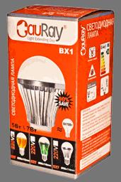 Коробка светодиодных ламп BX1