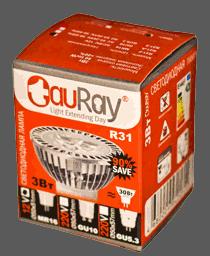 Упаковка ламп R31