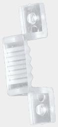 Крепежная клипса для светодиодной ленты на 220 вольт 5050B,5050D