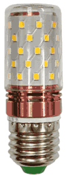 Ландшафтная светодиодная лампа Е27 на 24-85 вольт, «Край света» F17-2S