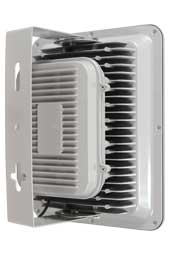 Вид сзади светодиодного прожектора FLU120S