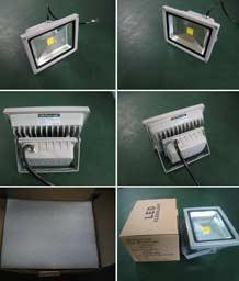 Упаковка светодиодного прожектора FL20C
