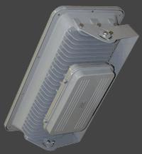 Вид сзади светодиодного прожектора FL360C