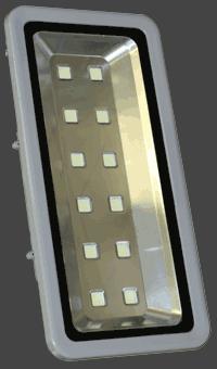 Вид спереди светодиодного прожектора FL360C