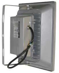 Вид сзади светодиодного прожектора FL40SX