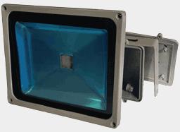Корпус светодиодного прожектора мощностью 30 ватт, FLH30