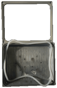Вид внутри корпуса FLH30