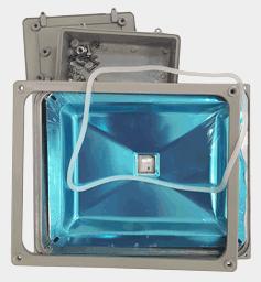 Корпус светодиодного прожектора мощностью 40-60 ватт, FLH50