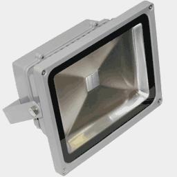 Синий светодиодный прожектор FLT30B на 36, 48 вольт