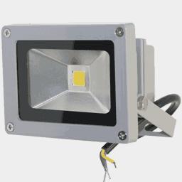 Светодиодный прожектор FLU10S на 12, 24 вольт