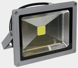 Прожектор светодиодный низковольтный FLU20CX, 12-24 вольт