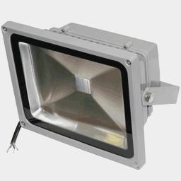 Синий светодиодный прожектор FLU30B на 12, 24 вольт