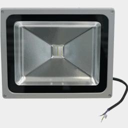 Зелёный светодиодный прожектор FLU30G на 12, 24 вольт