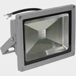 Красный светодиодный прожектор FLU30R на 12, 24 вольт