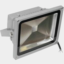 Жёлтый светодиодный прожектор FLU30Y на 12, 24 вольт