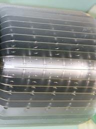 Вид радиатора подвесного промышленного светодиодного светильника ML180N
