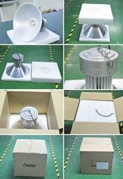 Упаковка подвесного промышленного светодиодного светильника ML80C