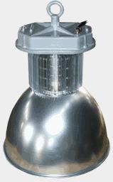Промышленный светодиодный светильник MLU150N на 12, 24 вольт