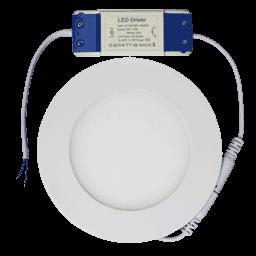 Круглая светодиодная панель PL120RNw