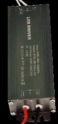 Блок питания PSFL120, вид с выхода