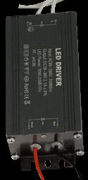 Блок питания PSFL70, вид с выхода