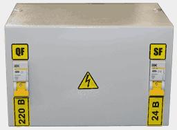 Ящик с понижающим трансформатором ЯТП-0,25 220/24-2