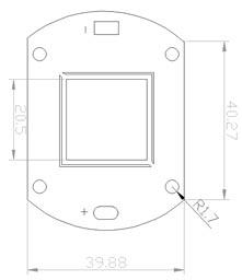 Размеры светодиодной матрица 120 Ватт